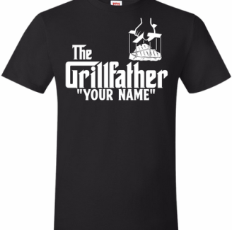 the grillfather pitmaster bbq t-shirt