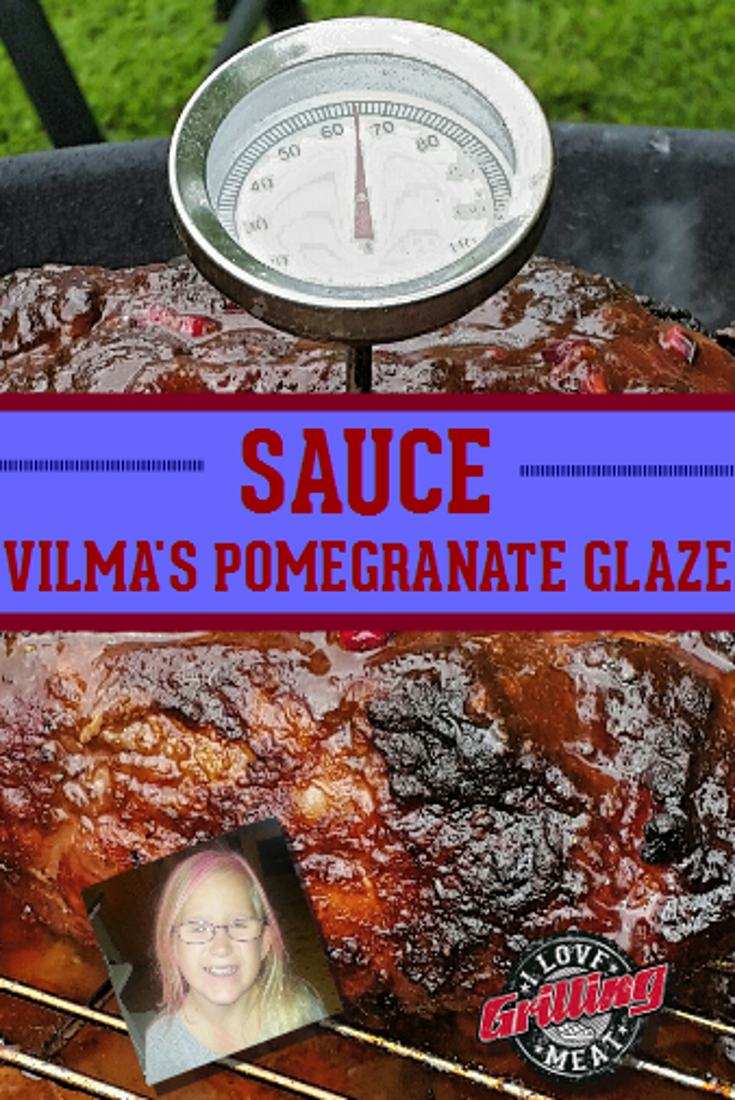 Vilma's Pomegranate Glaze Recipe For Pork Or Chicken