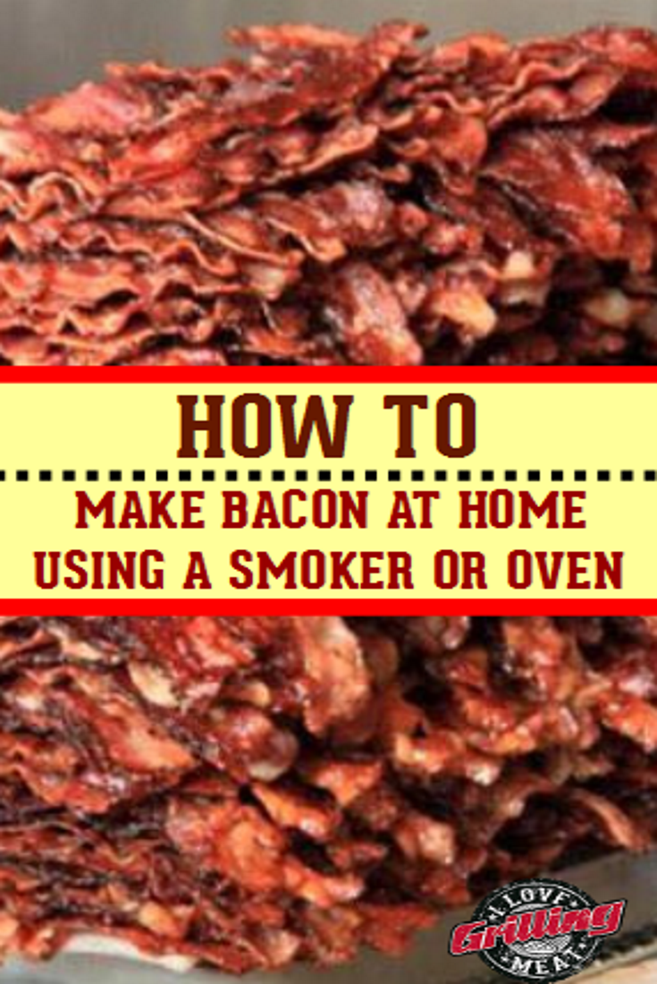 How To Make Bacon At Home (Smoking Bacon)
