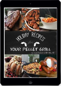 holiday recipes for your pellet grill ebook cover