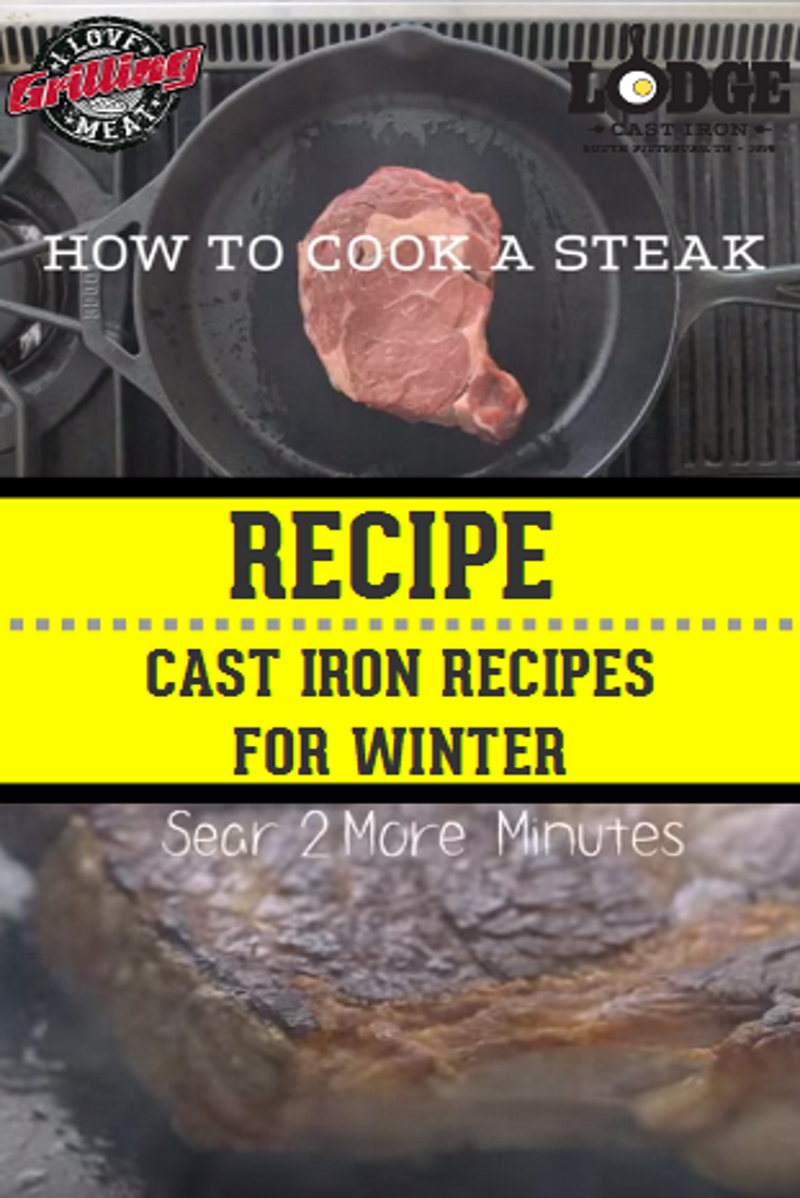 Cast Iron Recipes/Ideas for Winter Time