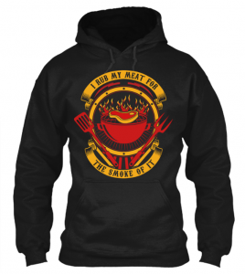 for the smoke of it hoodie_black BBQ