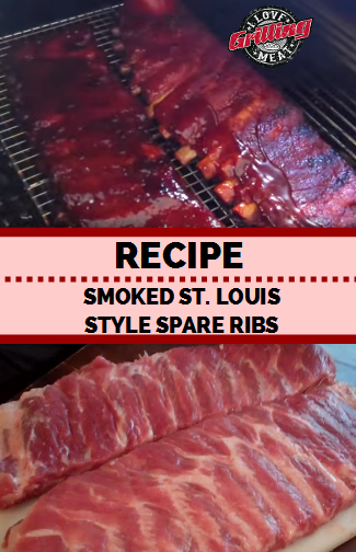 Smoked St. Louis Style Ribs Recipe (Spare Ribs)