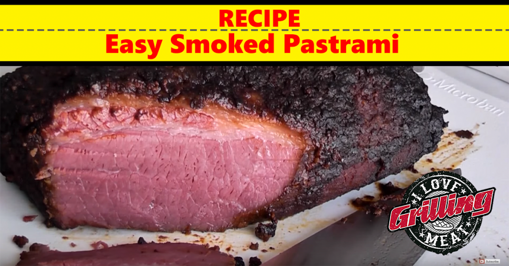 Easy Smoked Pastrami Recipe FB