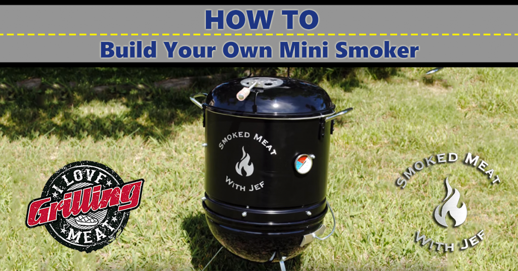 Homemade Smoker How To Build Your Own Mini Smoker FB