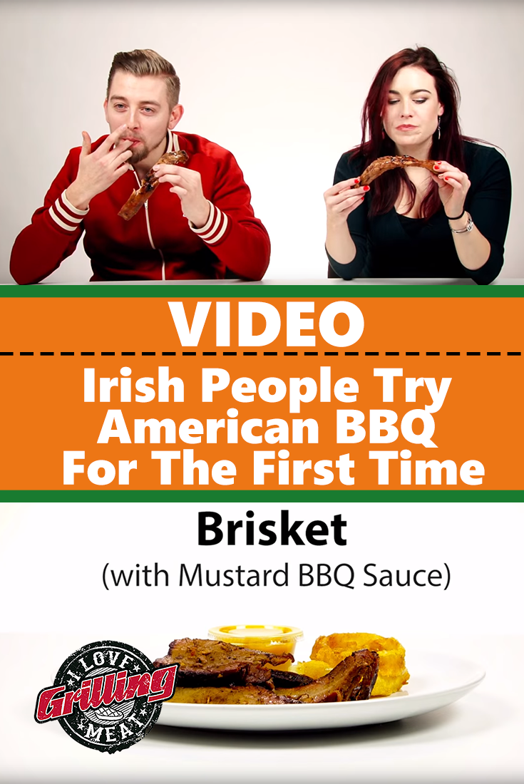 Irish People Try American BBQ For The First Time