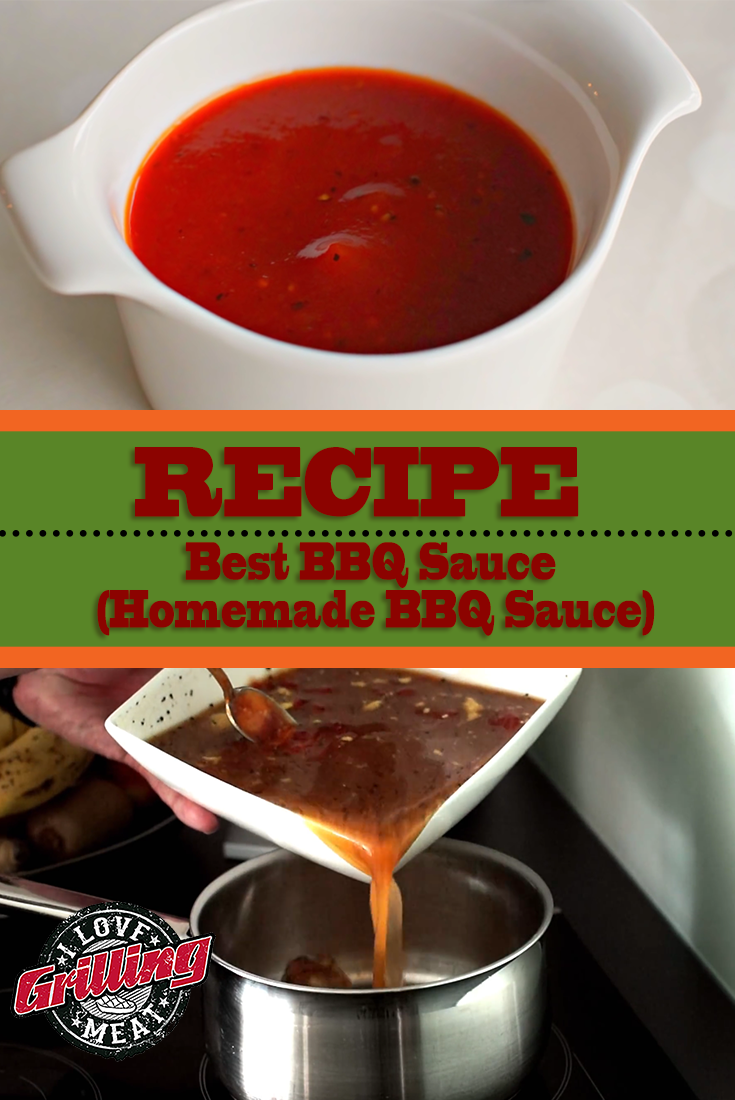 Best BBQ Sauce Recipe (Homemade BBQ Sauce)