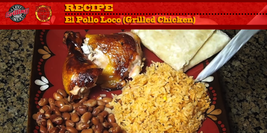 El Pollo Loco Recipe (Grilled Chicken) FB