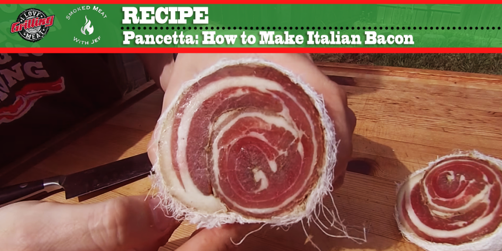 pancetta recipe italian bacon