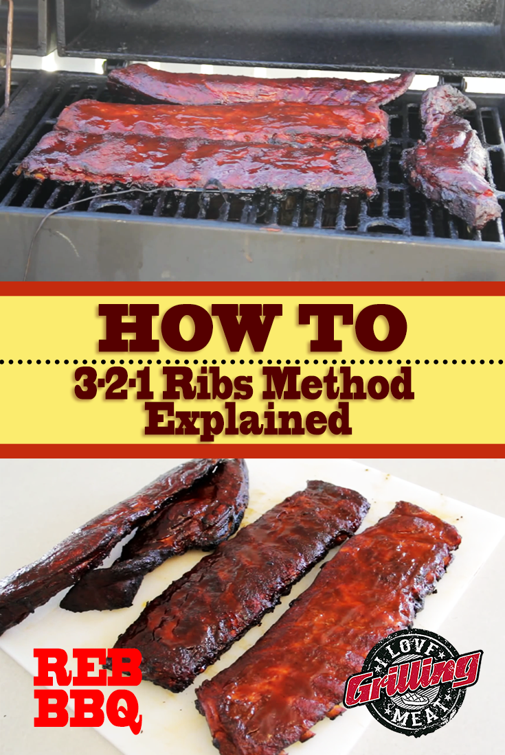 3-2-1 Ribs Method Explained