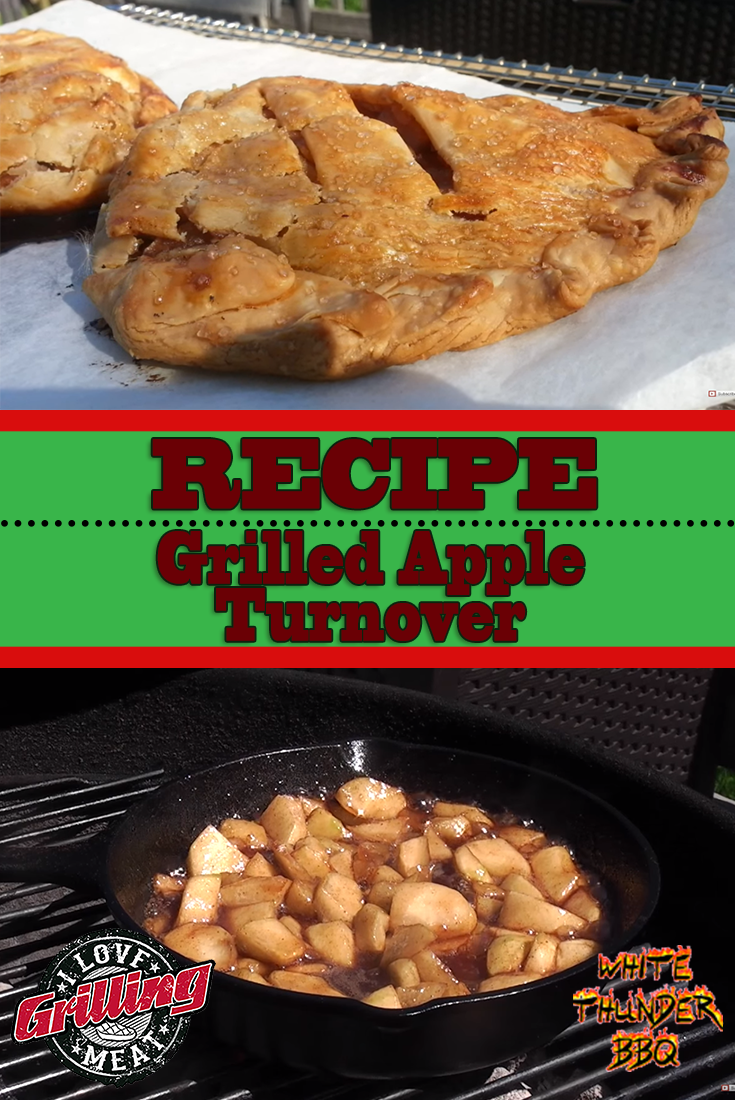 Grilled Apple Turnover Recipe