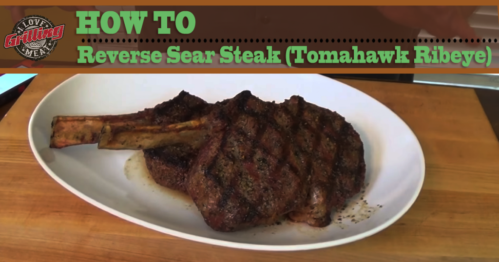 How To Reverse Sear Steak (Tomohawk Ribeye) FB