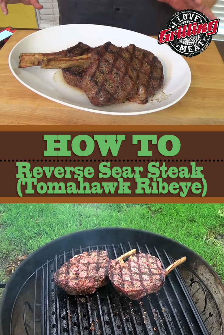 How To Reverse Sear Steak (Tomahawk Ribeye)