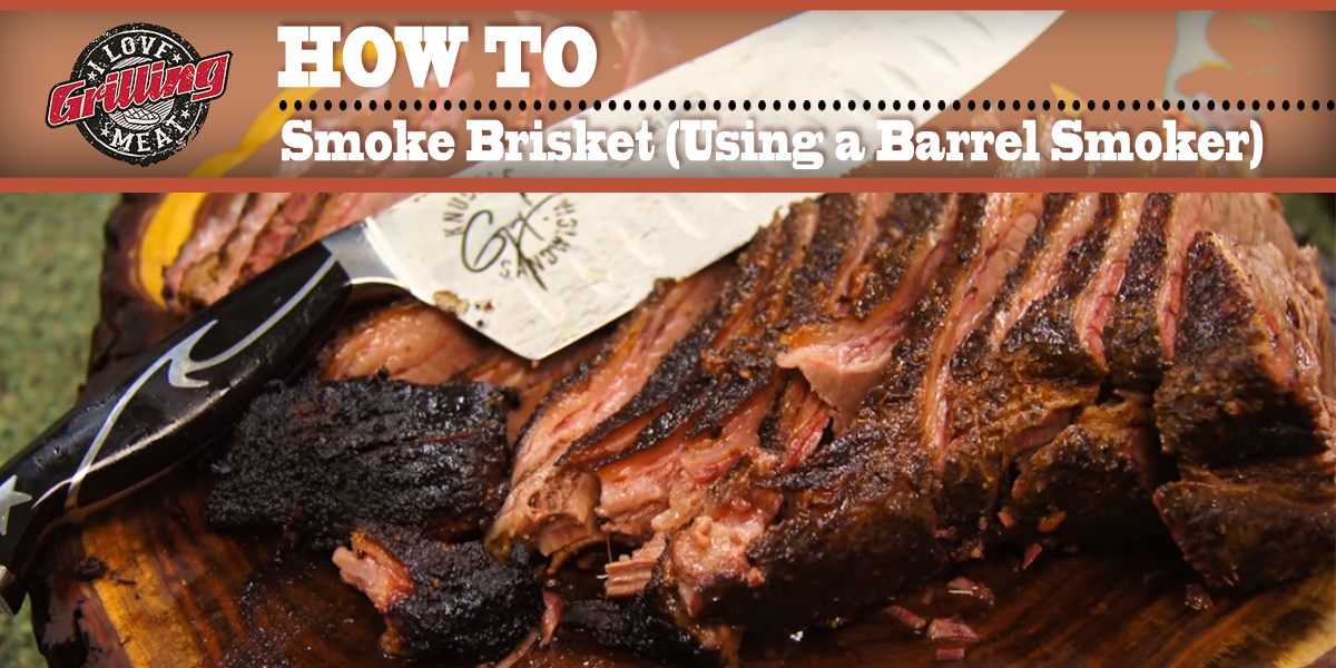 How to smoke brisket using a barrel smoker - How to smoke meat ...