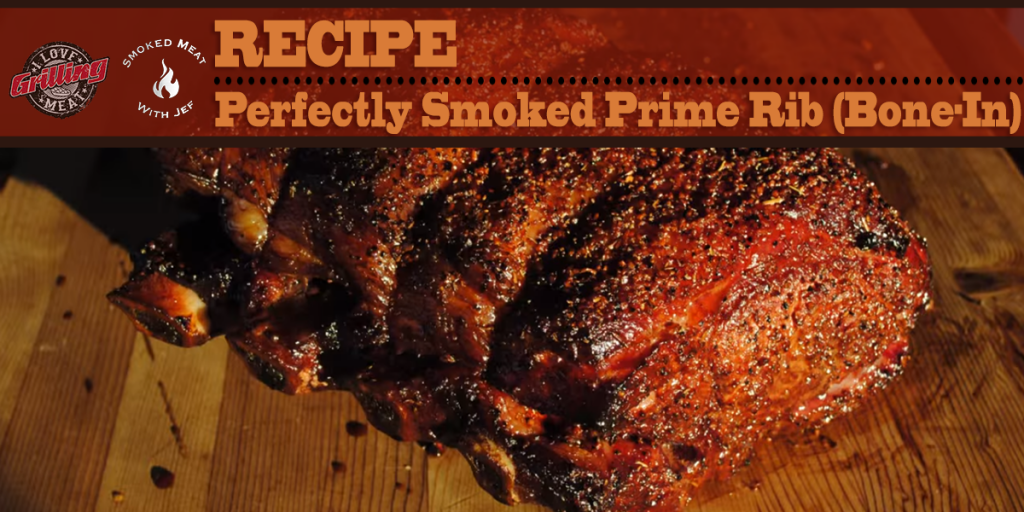 Perfectly Smoked Prime Rib (Bone-In) FB