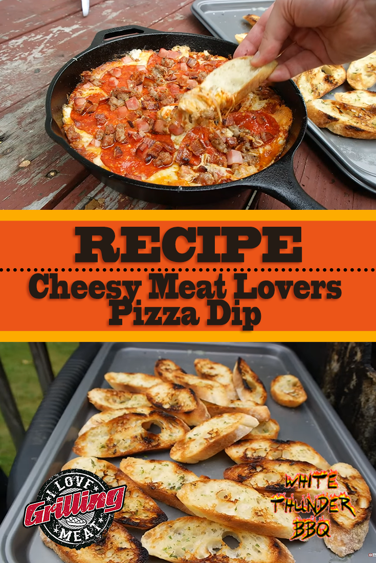 Cheesy Meat Lovers Pizza Dip Recipe