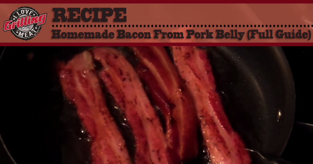 Homemade Bacon From Pork Belly (Full Guide) FB