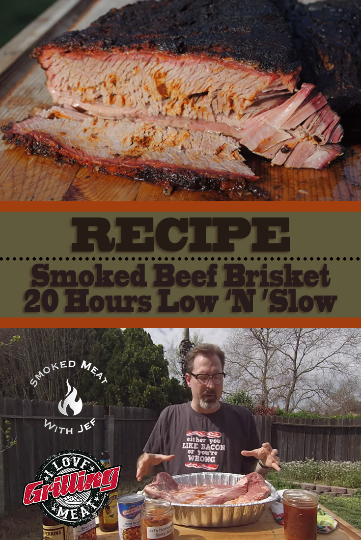 Smoked Beef Brisket Recipe – 20 Hours Low N Slow