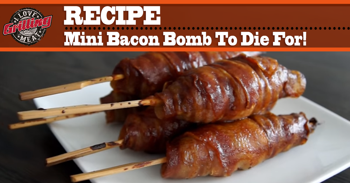 mini bacon bomb recipe to die for. Black Bedroom Furniture Sets. Home Design Ideas