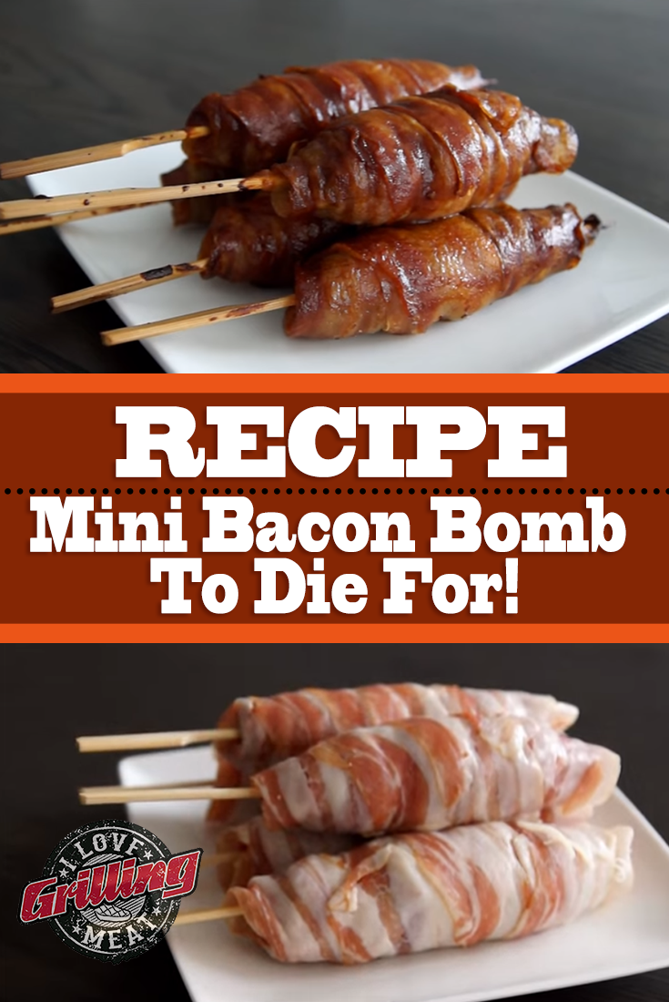 Mini Bacon Bomb Recipe To Die For!