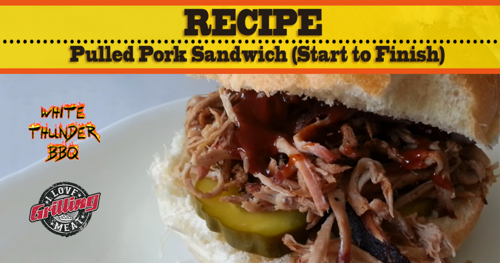 Pulled Pork Sandwich Recipe (Start to Finish) FB