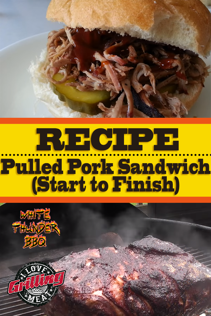Pulled Pork Sandwich Recipe (Start to Finish)