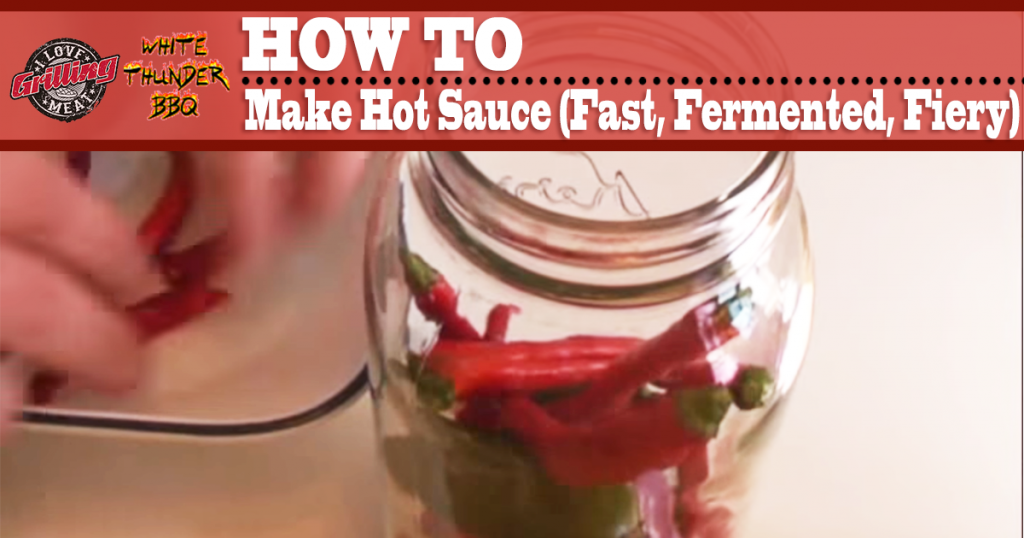 How to make hot sauce fast fermented and fiery for How to make the best chicken wings