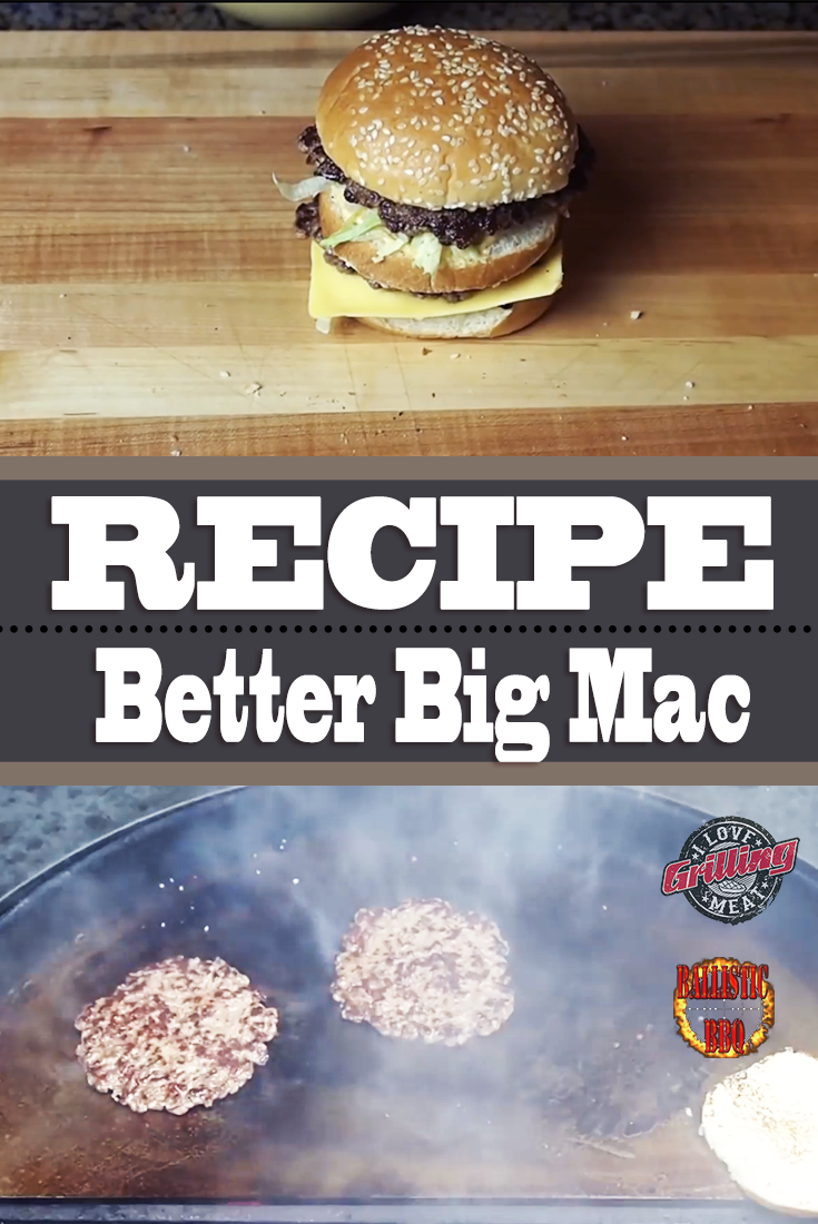Better Big Mac Recipe