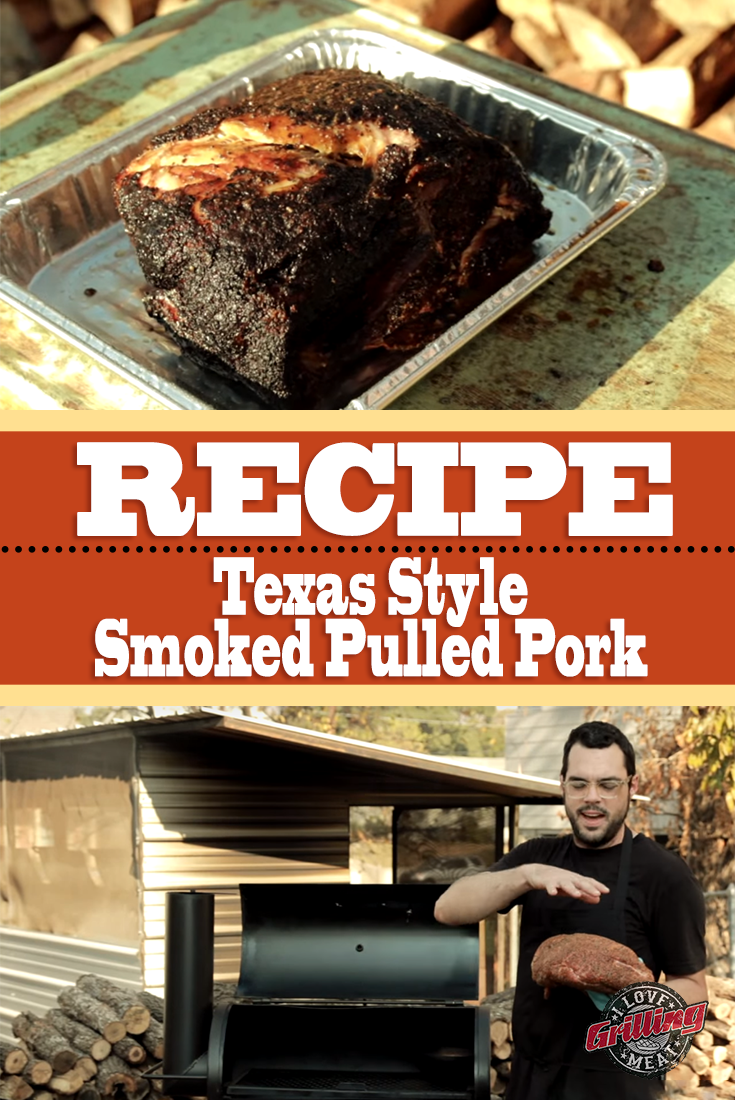 Texas Style Smoked Pulled Pork Recipe