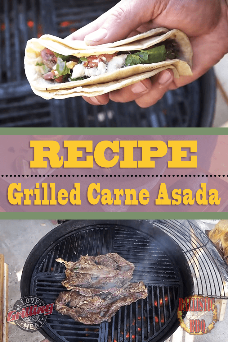 Grilled Carne Asada Recipe