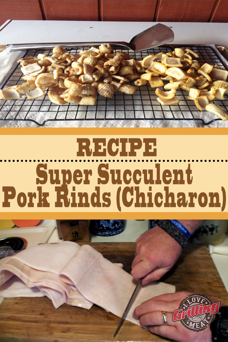 Super Succulent Pork Rinds Recipe (Chicharon)