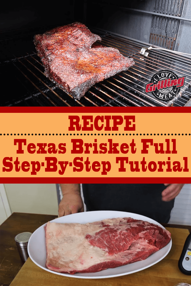 Texas Brisket Recipe Full Step-By-Step Tutorial