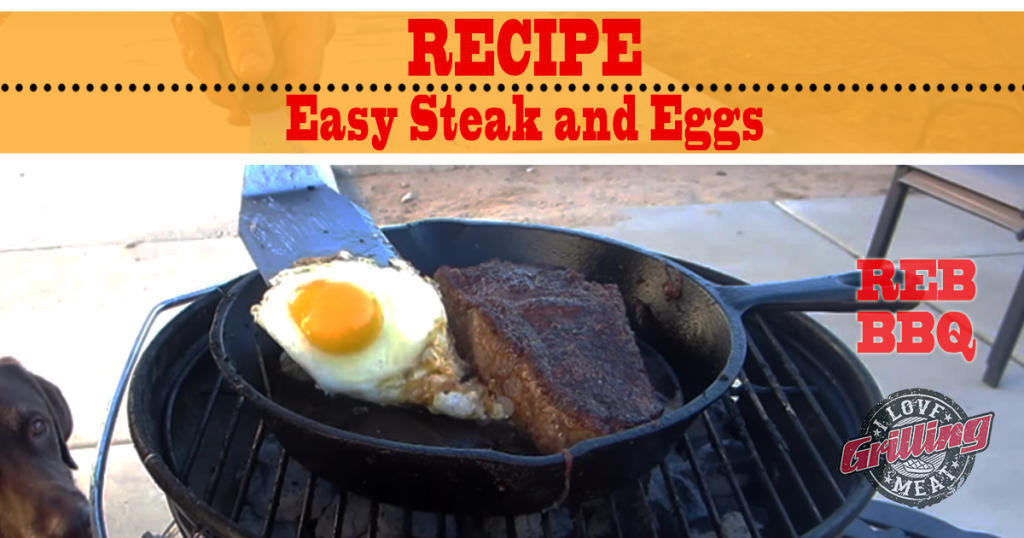 Easy Steak and Eggs Recipe