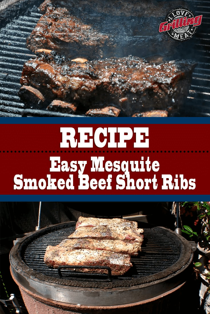 Easy Mesquite Smoked Beef Short Ribs Recipe
