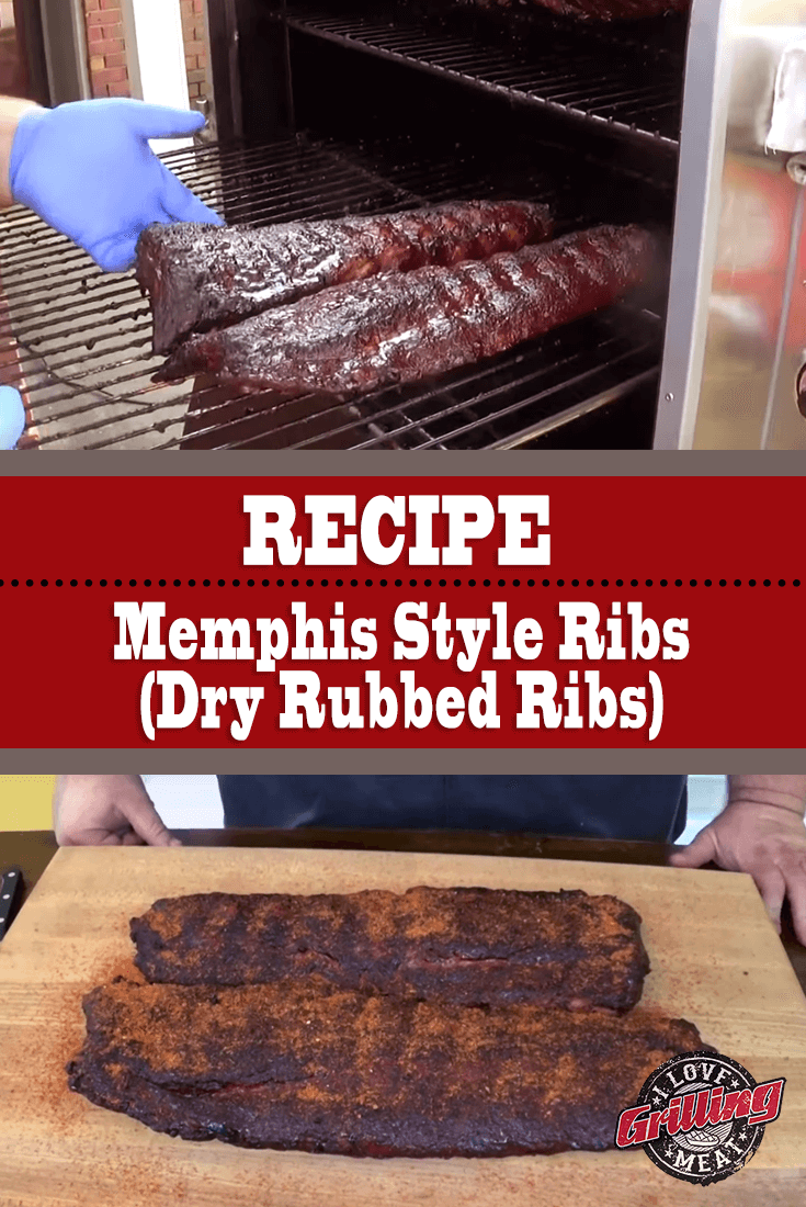 Memphis Style Rib Recipe (Dry Rubbed Ribs)