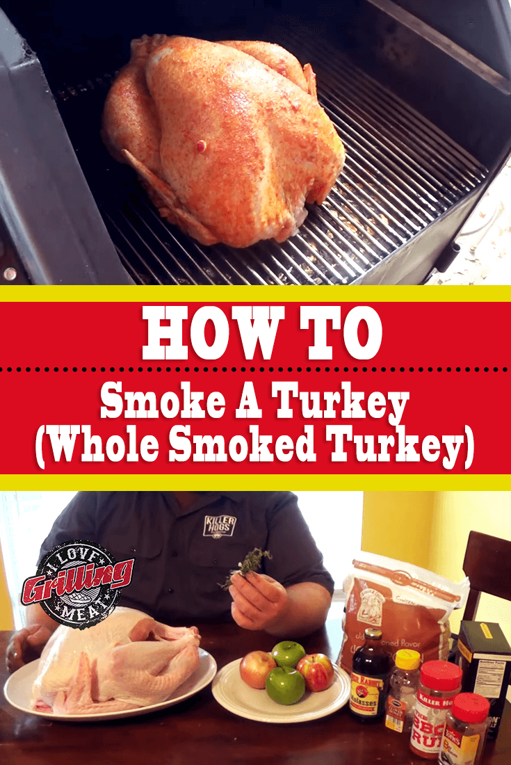 How To Smoke A Turkey (Whole Smoke Turkey)
