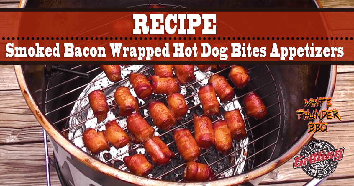 Hot Dogs Wrapped In Bacon Appetizer