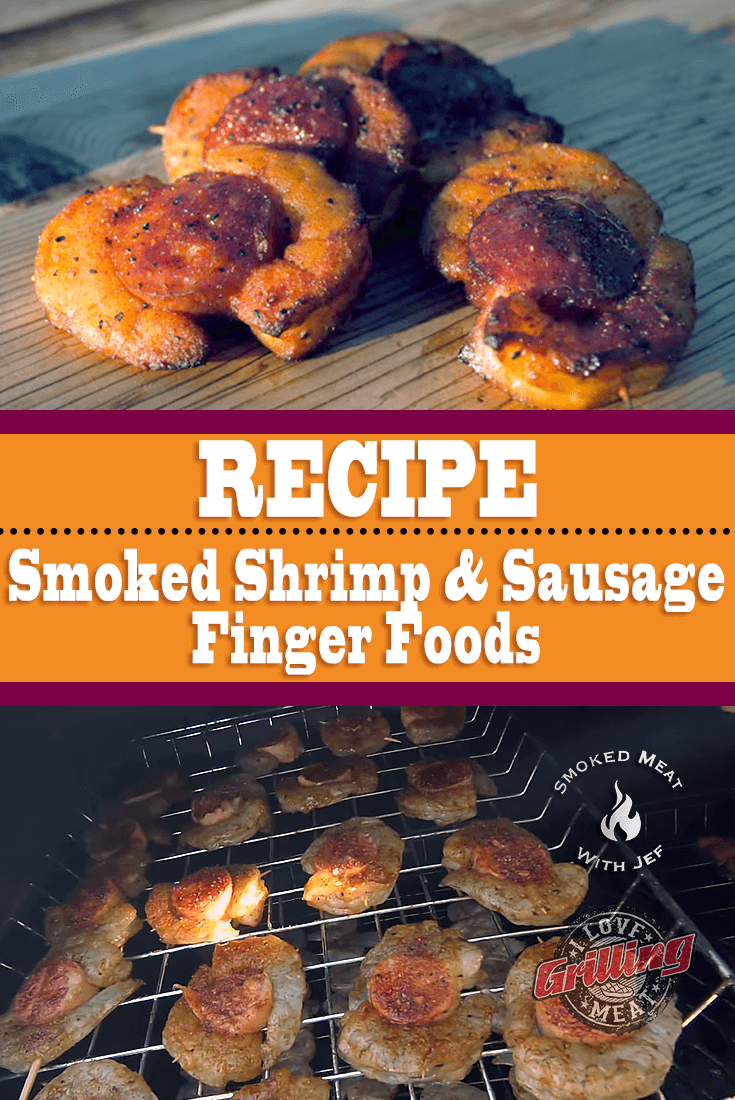 Smoked Shrimp And Sausage Finger Foods