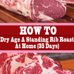 How To Dry Age A Standing Rib Roast At Home (35 Days)