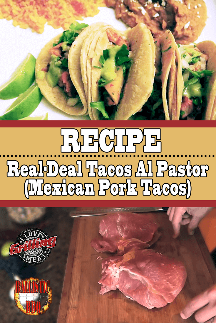 Mexican Pork Tacos Recipe (Crispy Juicy Tacos Al Pastor)