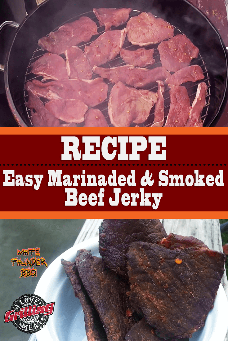 Easy Marinaded Smoked Beef Jerky From Round Steak