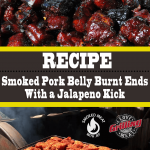 Smoked Pork Belly Burnt Ends With A Jalapeno Kick