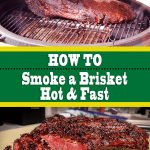 How To Smoke a Brisket Hot and Fast (Washington Style)