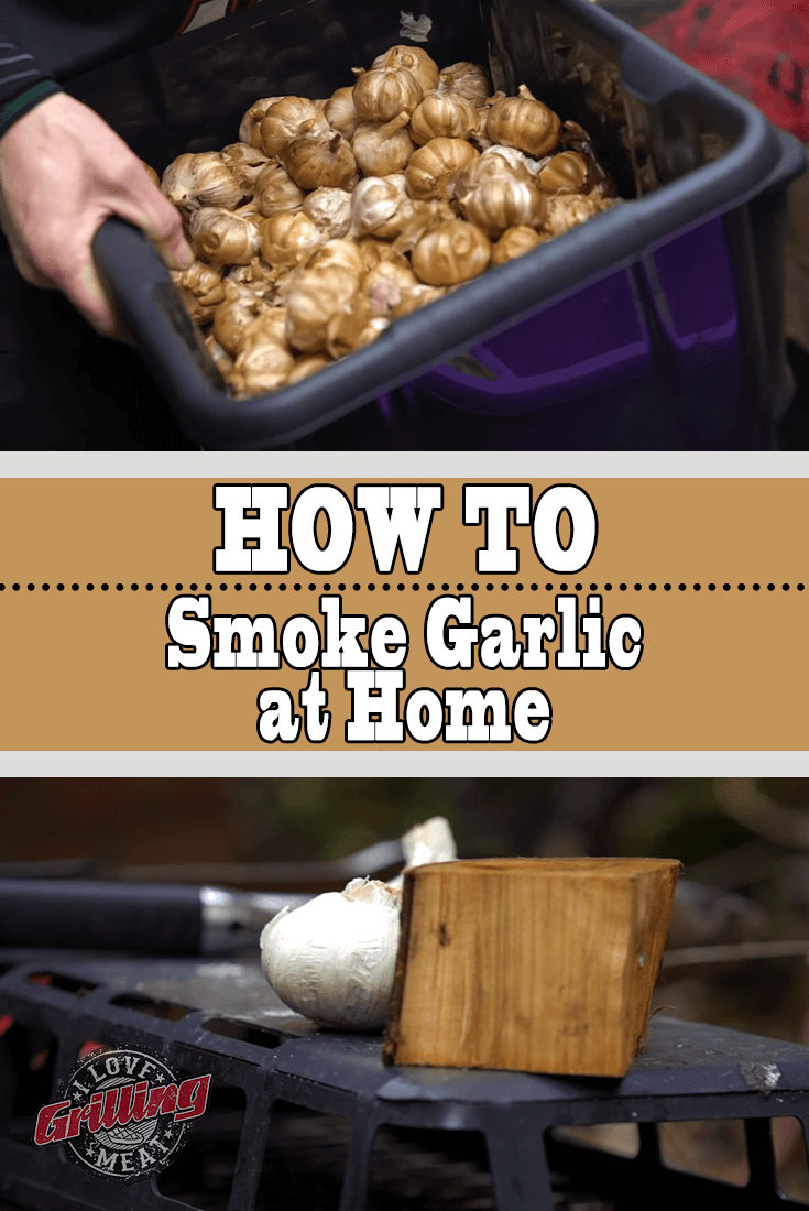 How to Smoke Garlic at Home