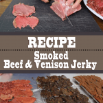 Smoked Beef And Venison Jerky (3 Recipes)