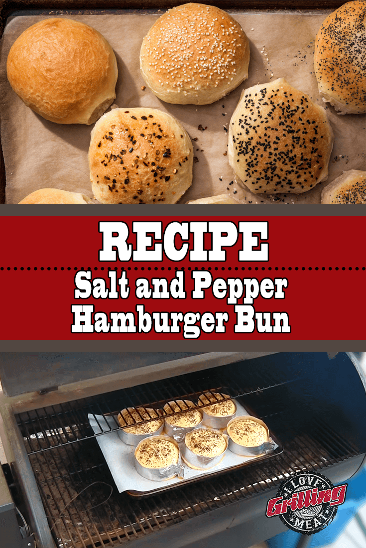 Best Ever Homemade Hamburger Bun Recipe (Salt and Pepper Buns)