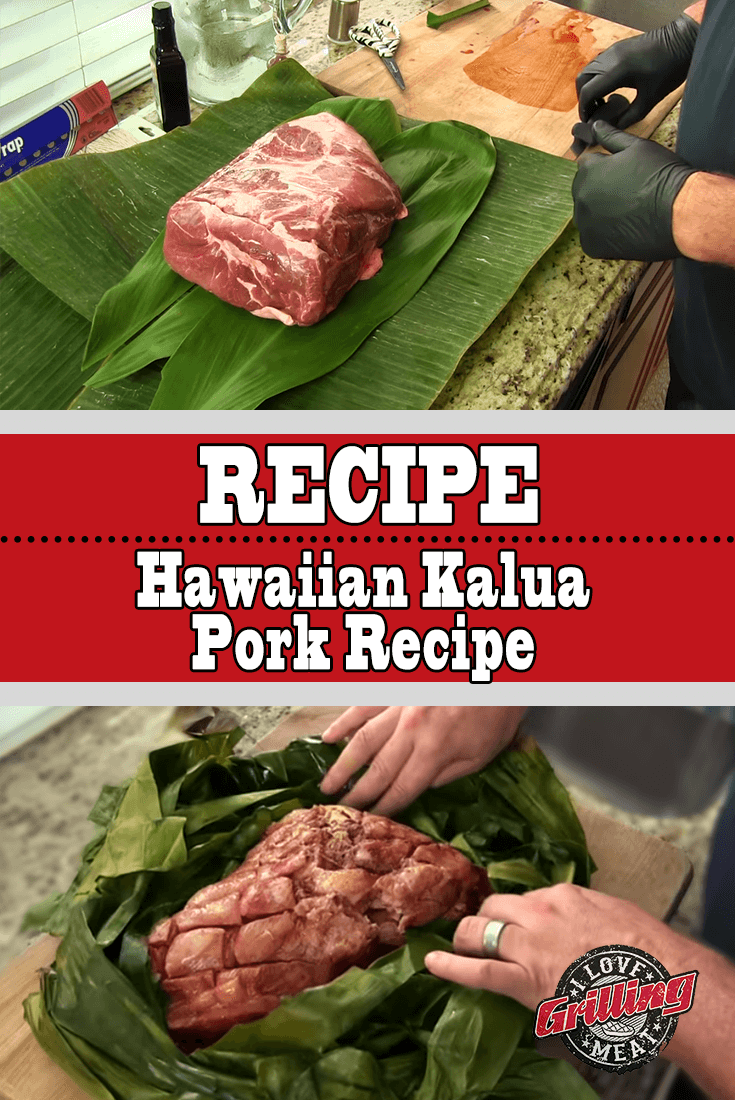 Hawaiian Style Kalua Pork Recipe
