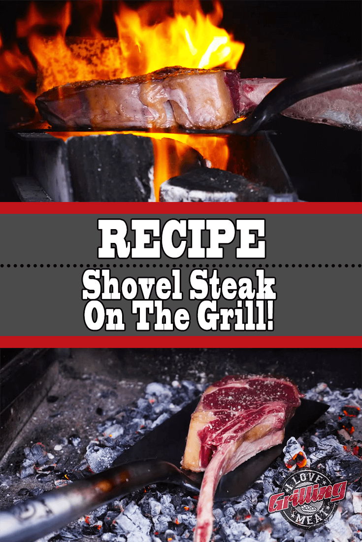 Shovel Steak On The Grill – Monster Tomahawk Steak Recipe