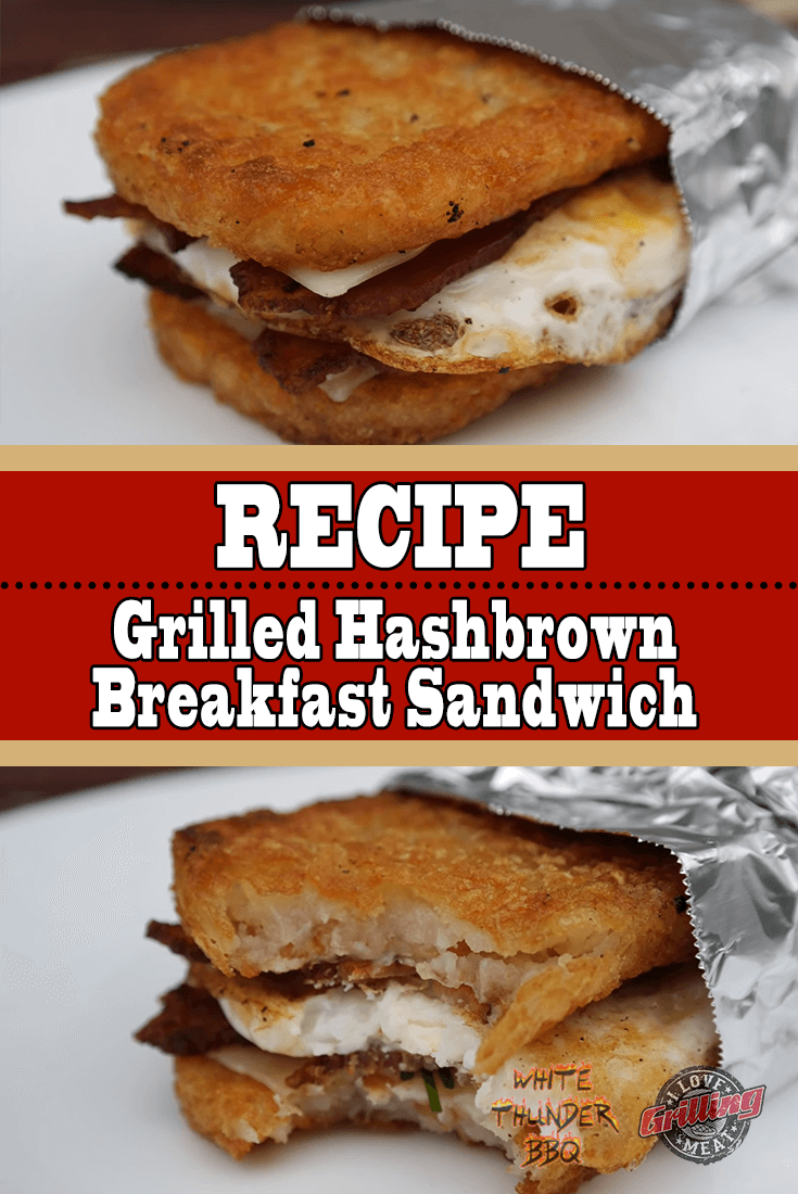 Grilled Hashbrown Breakfast Sandwich Recipe