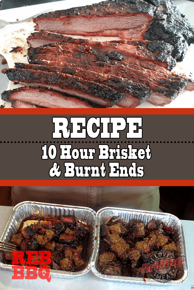 Brisket and Burnt Ends Recipe On The WSM (10 Hour Smoke)